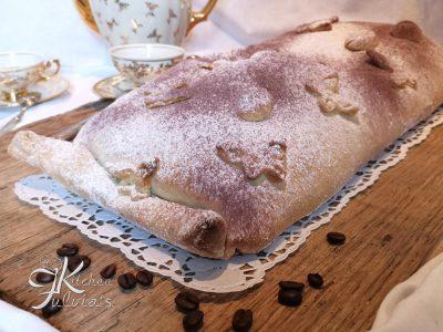 Strudel tiramisù - la torta perfetta per colazioni e merende
