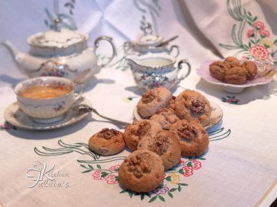 Biscotti con ricotta, fiocchi d'avena e noci - la ricetta