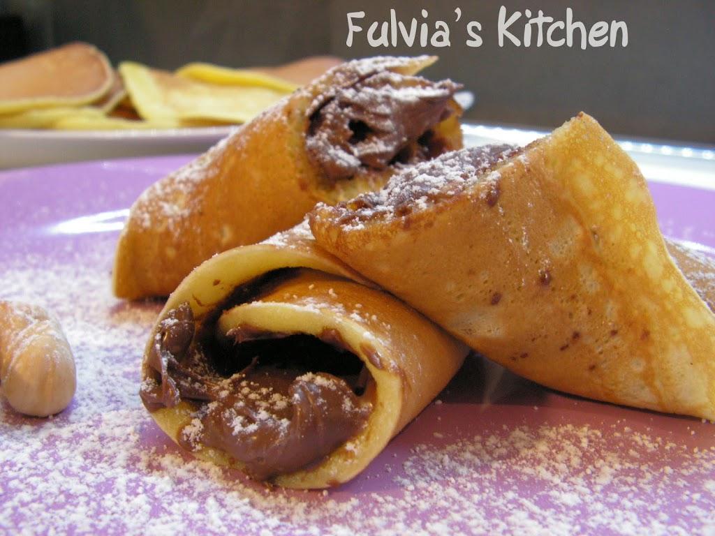 #Pancakes nocciolosi alla #Nutella