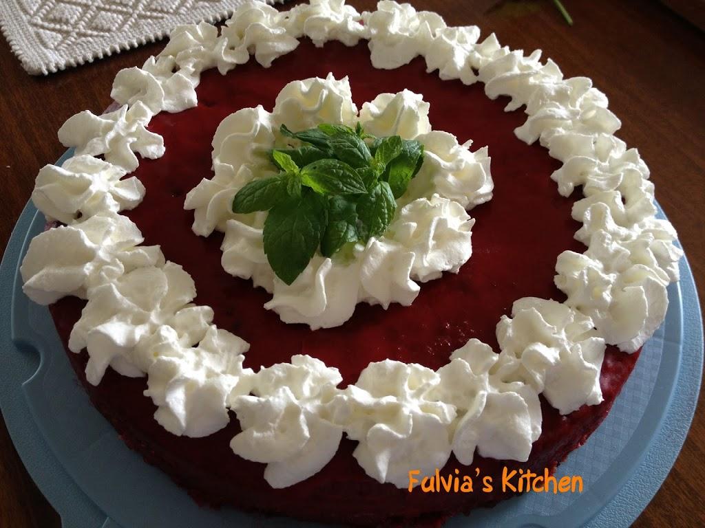 #Torta #glassata alle #ciliegie