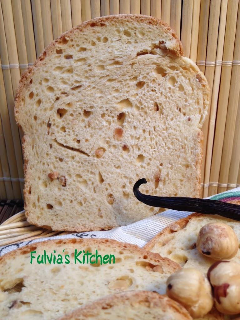 #Fette #Biscottate con #pasta #madre con #nocciole al #profumo di #vaniglia