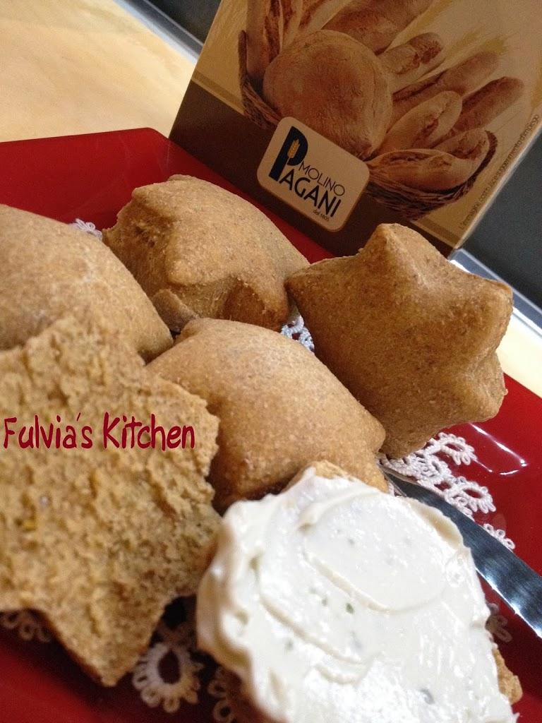 #Stelle di #pane alla #paprika #dolce con #pasta #madre