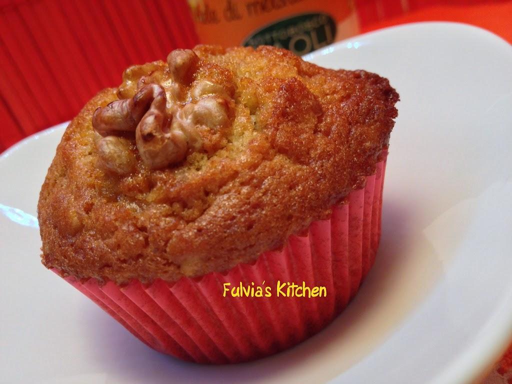 Muffin alle noci e Miele di Melata di bosco Sottobosco Paoli