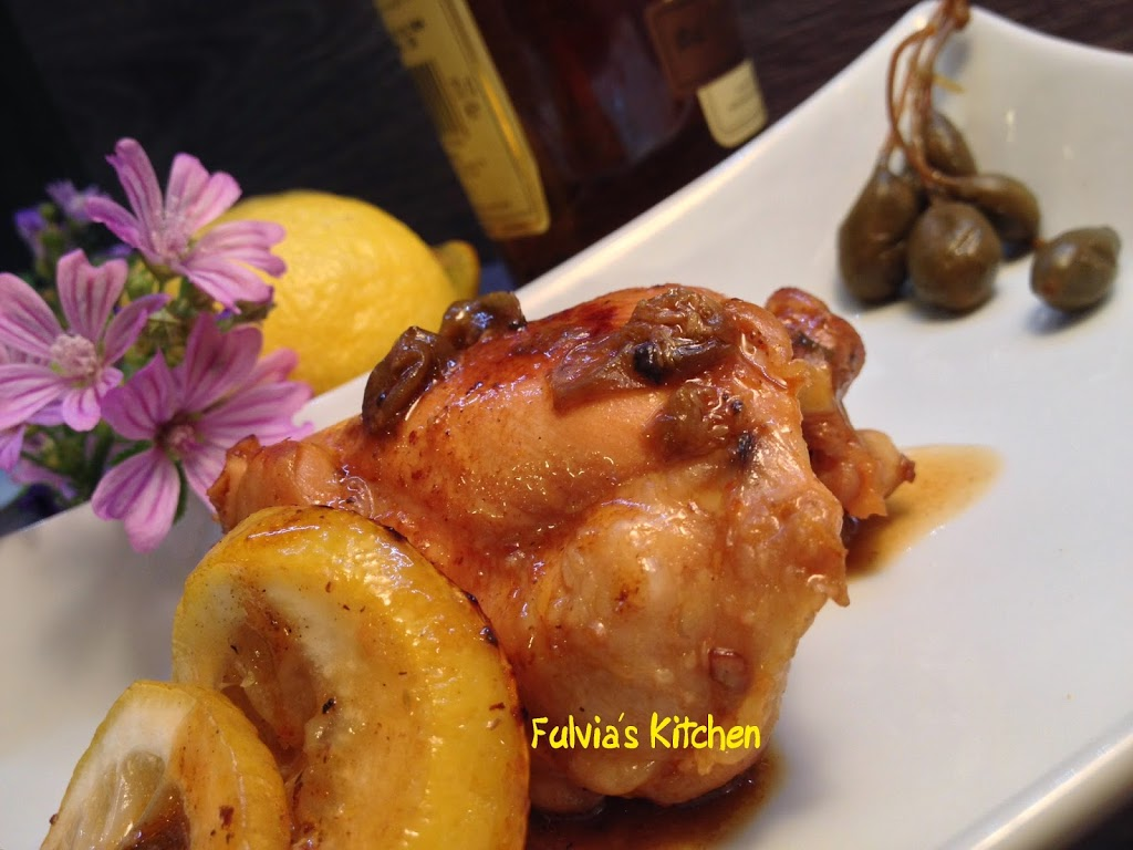 Ricetta light: Pollo con capperi e limone