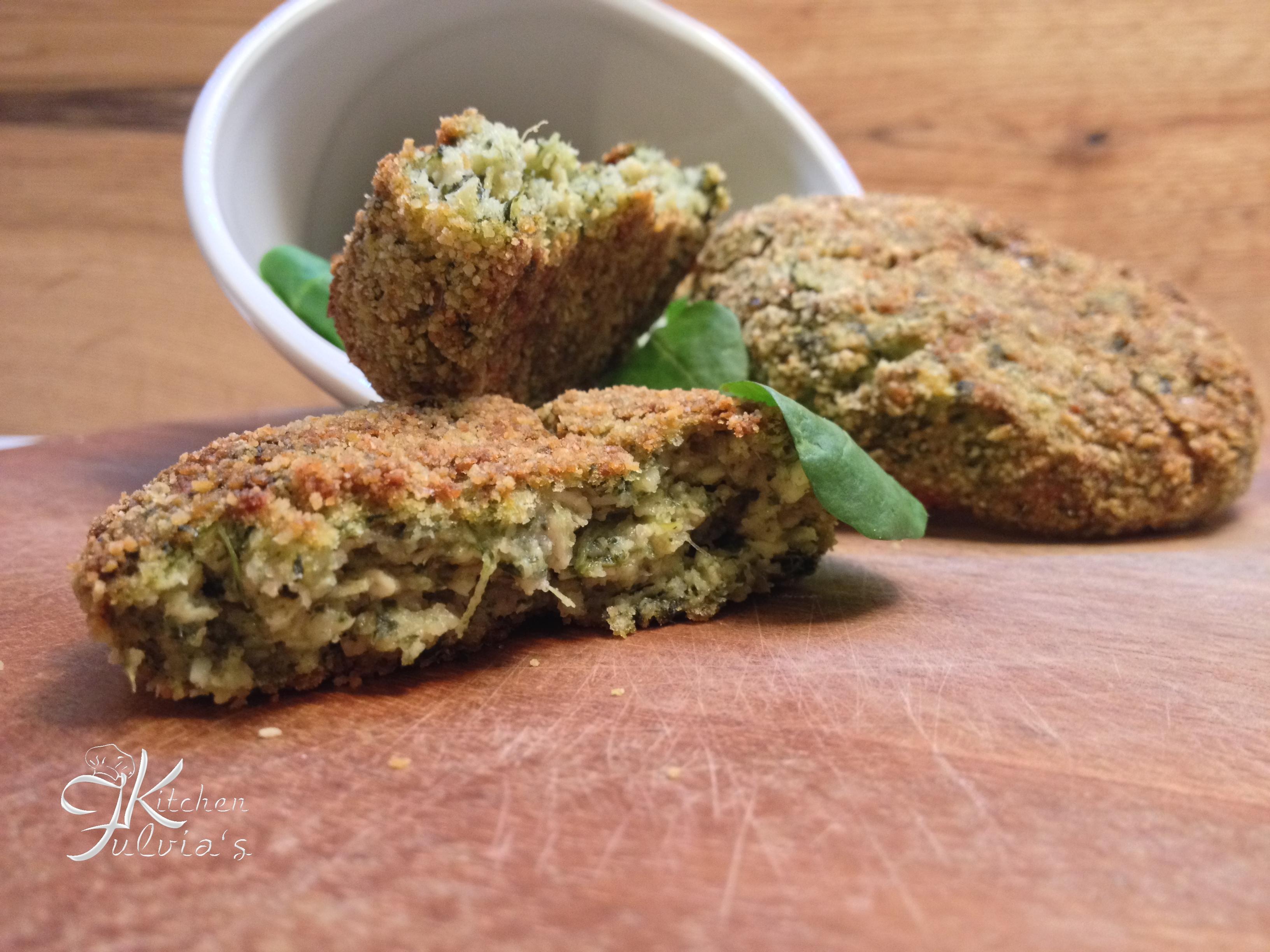 Polpette al forno con pollo, spinaci e patate