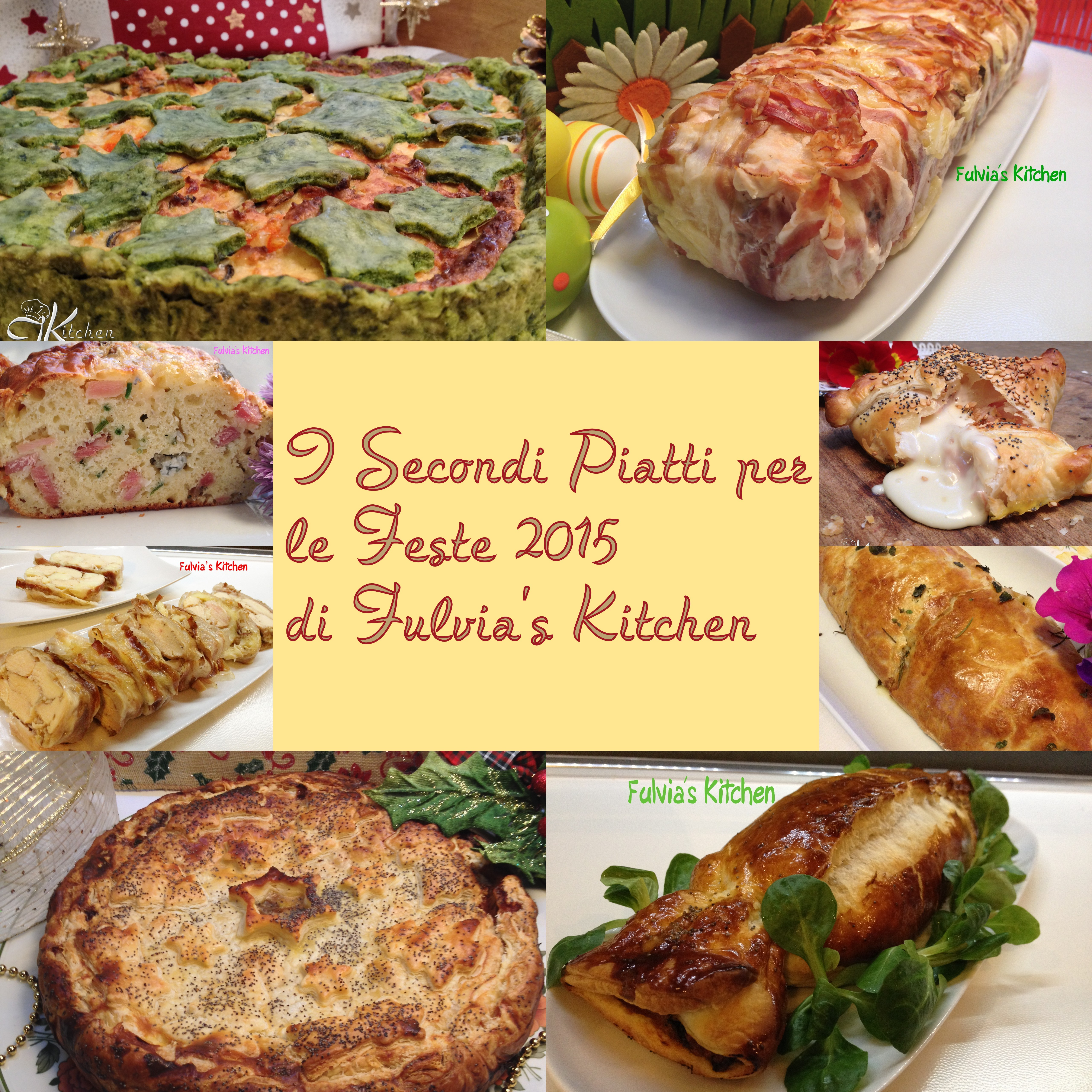 Secondi piatti per le Feste 2015