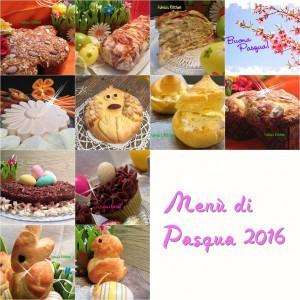 Menù completo di Pasqua 2016