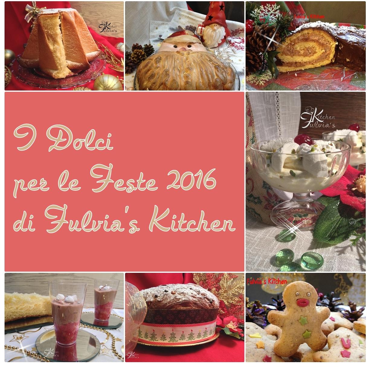Dolci e dessert per le Feste 2016