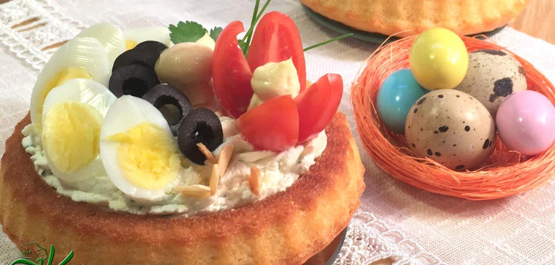 Tortine morbide salate alla mousse di formaggi – videoricetta