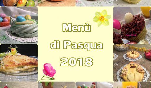 Menù di Pasqua 2018