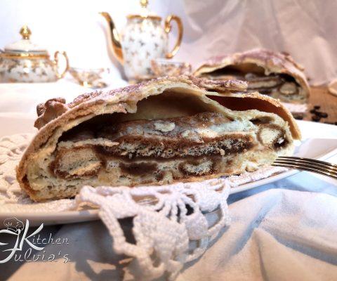 Strudel tiramisù – la torta perfetta per colazioni e merende
