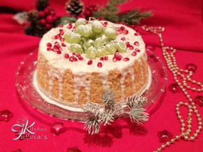 Chiffon cake all'arancia e cannella per Capodanno la ricetta