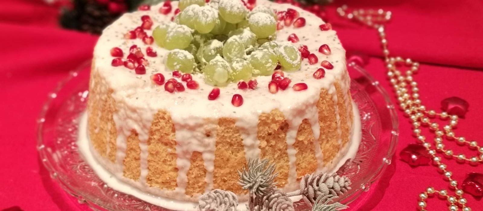 Chiffon cake all'arancia e cannella per Capodanno