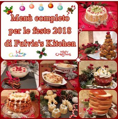 Menù completo per le feste 2018