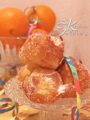 Tortelli di Carnevale al profumo di arancia