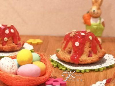 Ciambelline alle fragole per Pasqua la ricetta