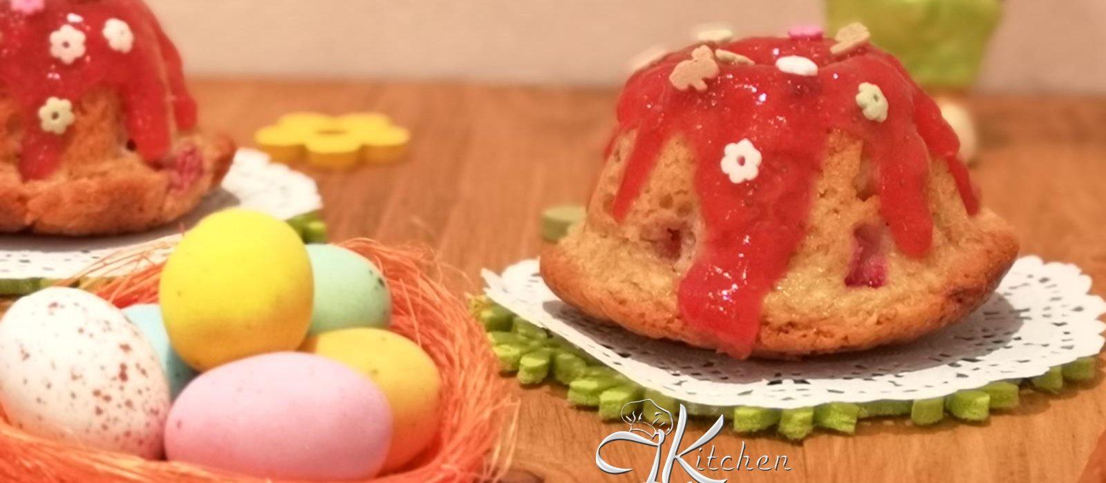 Ciambelline alle fragole per Pasqua