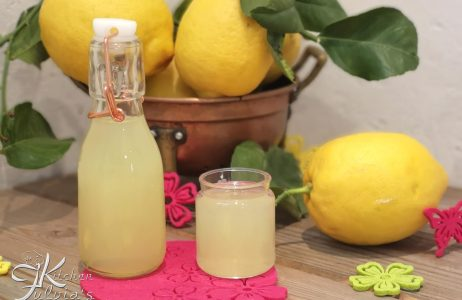 Limoncello del mio papà – liquore al limone la ricetta