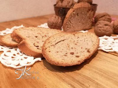 Biscotti del lagaccio con L.M alle noci la ricetta