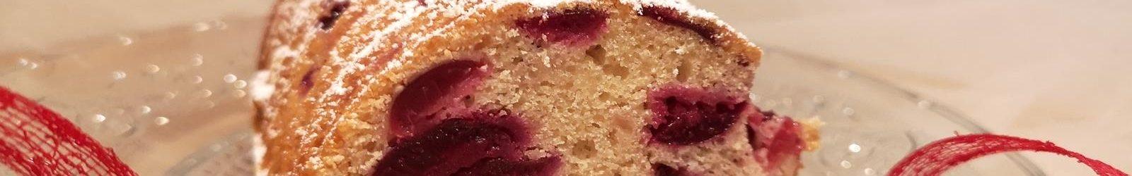 Torta tipo Amor polenta con ciliegie la ricetta