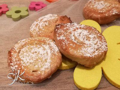 Biscotti girelle al profumo di lime