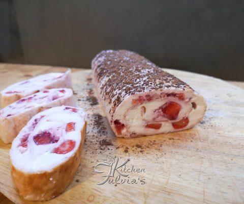 Rotolo Dukan 7 giorni alle fragole La ricetta