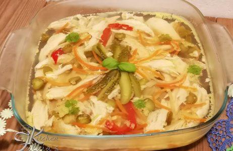 Petto di pollo in gelatina dieta Dukan La ricetta