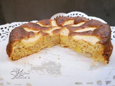 Torta di mele Dukan senza tollerati